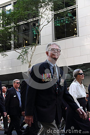 Anzac day commemorations Editorial Photo