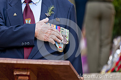 Anzac day 2013 Editorial Photo