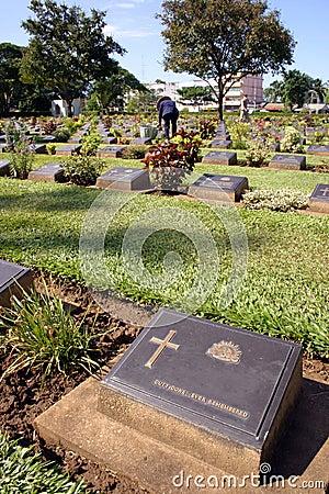 Anzac Headstone