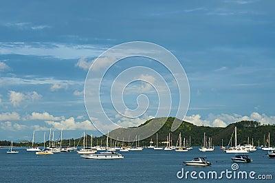 Ao Chalong marina