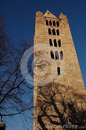 Free Aosta Bell Tower Stock Images - 46444784