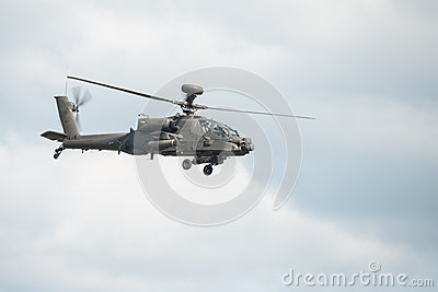 Apache helicopter Editorial Photography
