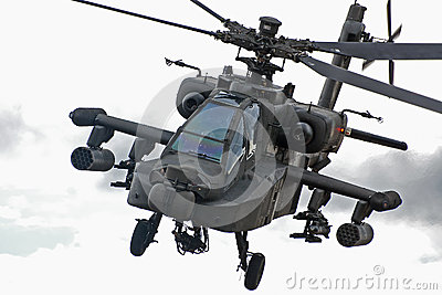 Apache helicopter Editorial Image