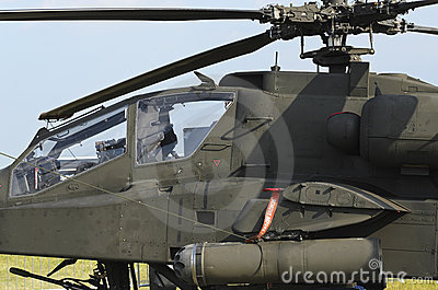 Apache Longbow Editorial Stock Photo