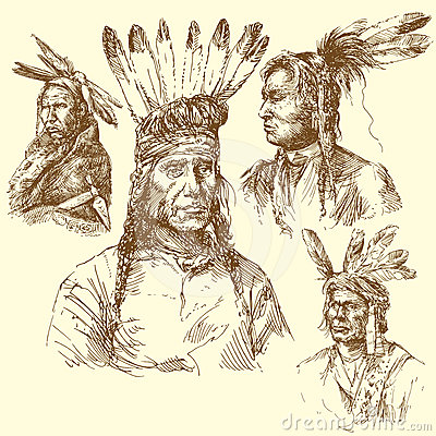 Apache portrait