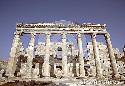 Apamea ruins, Syria