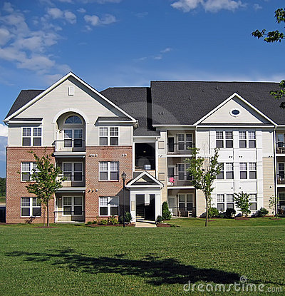 Free Apartment Building Facade 2 Stock Photo - 6019020