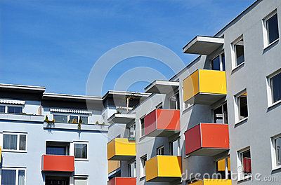 Apartment building urban
