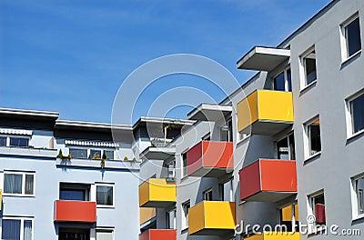 Apartment building urban