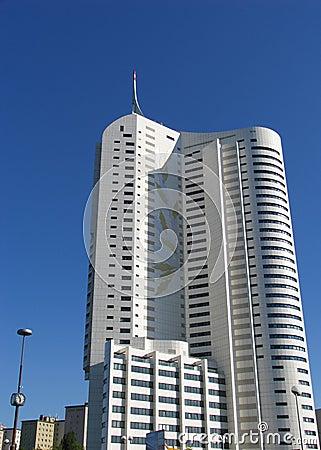 Apartment building in Vienna, Austria