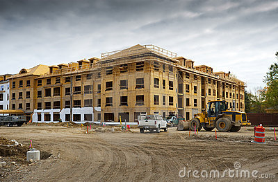 Apartment Complex Under Construction