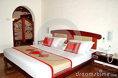 Apartment interior in the luxury villa