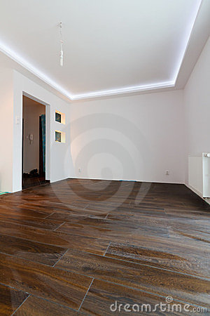 Apartment interior after renovation