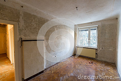 Apartment in need of renovation