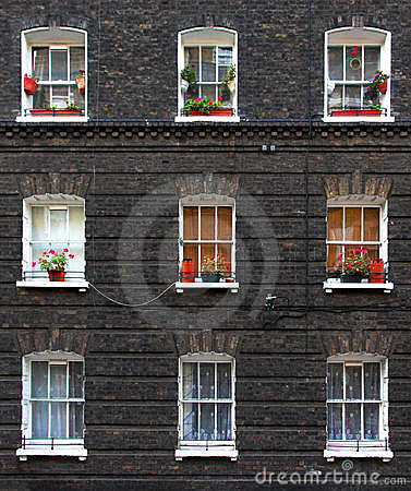 Free Apartment Windows Stock Photo - 7526680