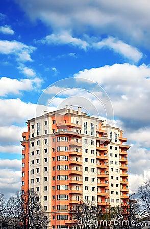 Apartments block, dream house