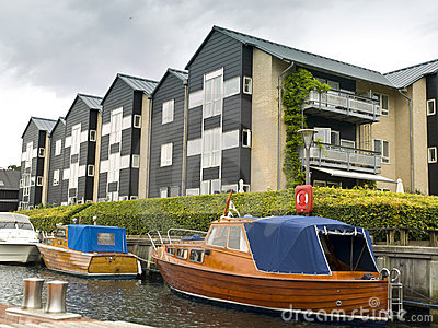 Apartments in the Copenhagen Canals