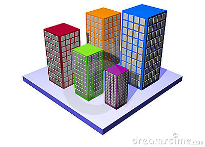 Apartments and Flats - Building Property Series