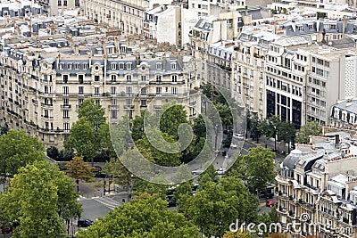 Apartments in Paris city center