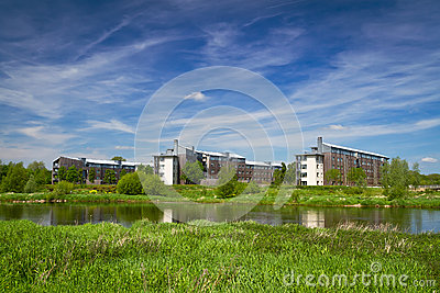 Apartments at the river in Limerick