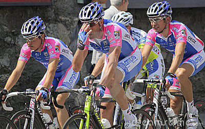 Apennines Cycling Race 2010 Editorial Image