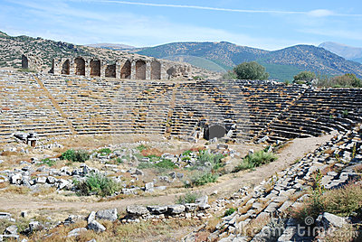 Aphrodisias -  Roman Stadium - Turkey
