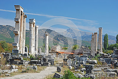 Aphrodisias - Temple of Aphrodite - Turkey