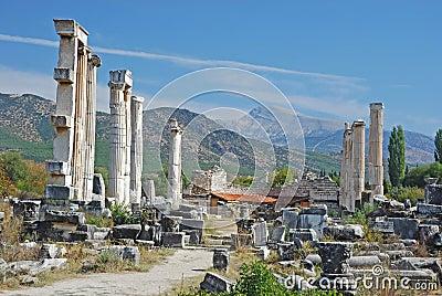 Aphrodisias - Temple of Aphrodite - Turkey