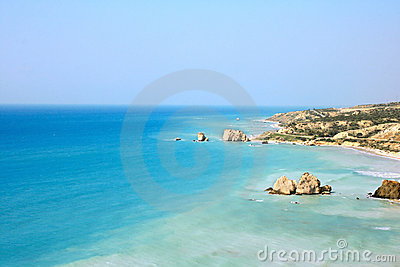 Aphrodite s legendary birthplace in Cyprus.