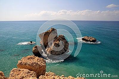 Aphrodite s Rock, Cyprus.