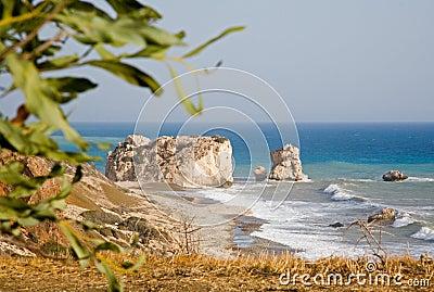 Aphrodite s Rock, Cyprus