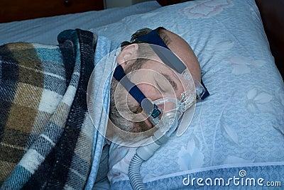 Apneaapparaat van de slaap