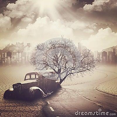 Free Apocalypse. Royalty Free Stock Image - 29444236