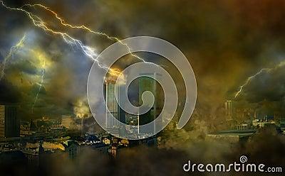 Apocalypse weather anomalies