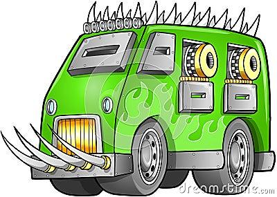 Apocalyptic Van Vehicle