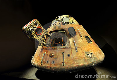 Apollo 13 LEM Capsule Editorial Image