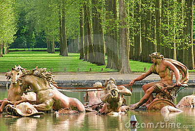 Apollo Fountain at Palace of Versailles