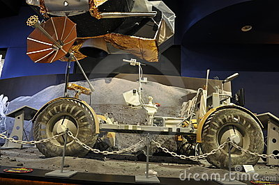 Apollo Lunar Roving Vehicle Editorial Photography