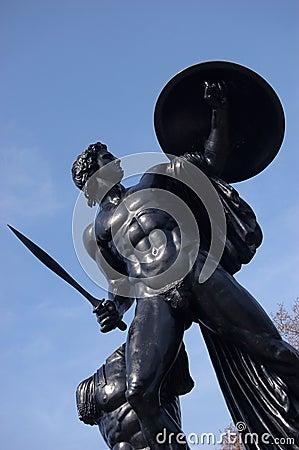 Apollo statue in Hyde Park