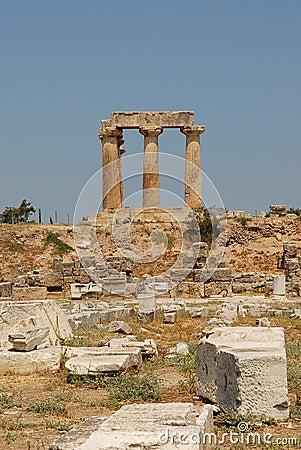 Apollon Corinthe s temple