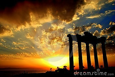Apollon Temple in Side