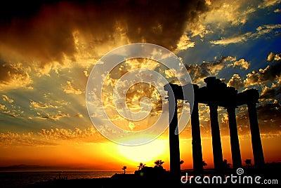 Apollon Temple in Side