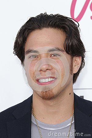 Apolo Ohno at the 2012 Billboard Music Awards Arrivals, MGM Grand, Las Vegas, NV 05-20-12 Editorial Image