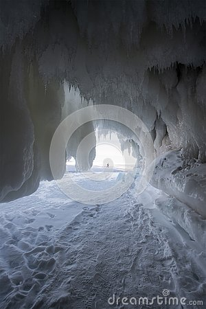 Free Apostle Islands Ice Caves, Winter, Travel Wisconsin Royalty Free Stock Photography - 141348397