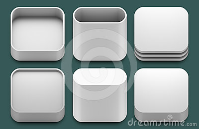 App icons for iphone and ipad applications.