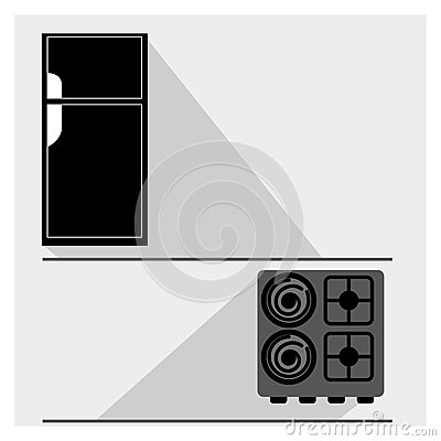 appareil de cuisine illustration de vecteur image 60767165. Black Bedroom Furniture Sets. Home Design Ideas