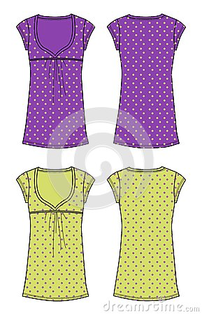 Apparel girl upper purple