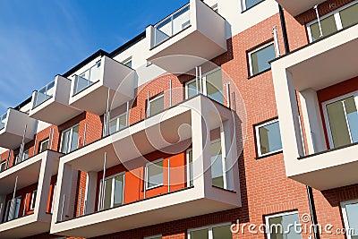 Appartamenti moderni fotografia stock libera da diritti for Appartamenti moderni
