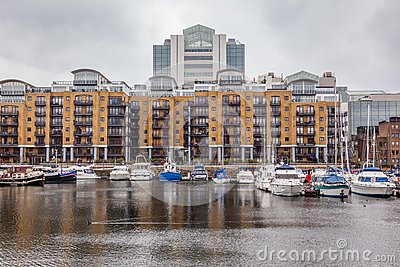 St. Katharine Docks, Tower Hamlets, London.