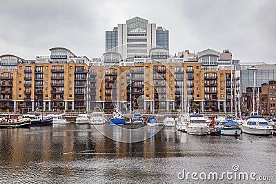 St. Katharine Docks, Tower Hamlets, London.